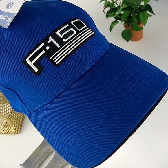 Classic Ford Automotive Car Mesh Trucker Baseball Cap Hat Blue New OSFM
